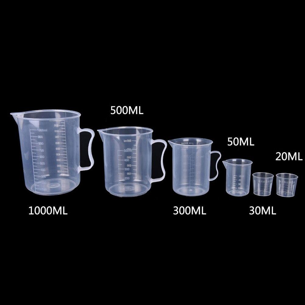 couleur al/éatoire Tasses /à mesurer en plastique pour la cuisson cuill/ères /à mesurer pour la cuisson