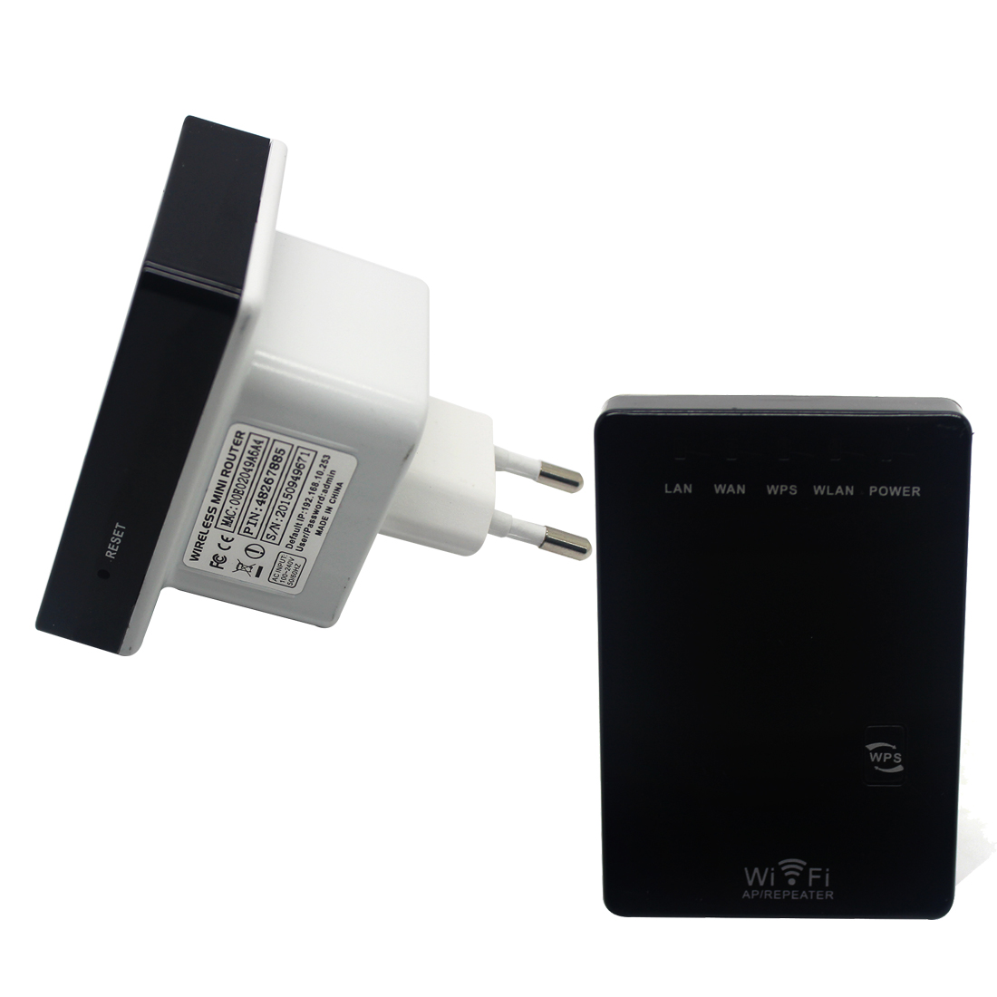 NOYOKERE 300Mbps mini Wifi Repeater Wireless-N AP Range Extender 802.11N Booster Signal Amplifier wlan EU