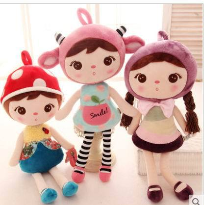 Free shipping 48cm 65cm.83cm  Metoo microphones keppel rabbit baby girl plush toy dolls dolls cute children gift