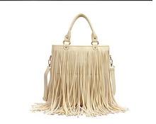 Shoulder bag fashion women leather fringed bag hobo clutch bag messenger bag handbag