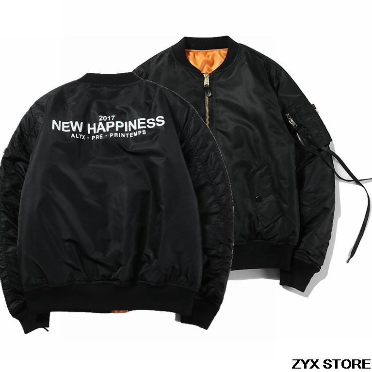 2017 Top Version marque hiver Style 1:1 femmes hommes Ma1 Bomber veste manteaux Hiphop Skateboard hommes Bomber veste épaisse veste