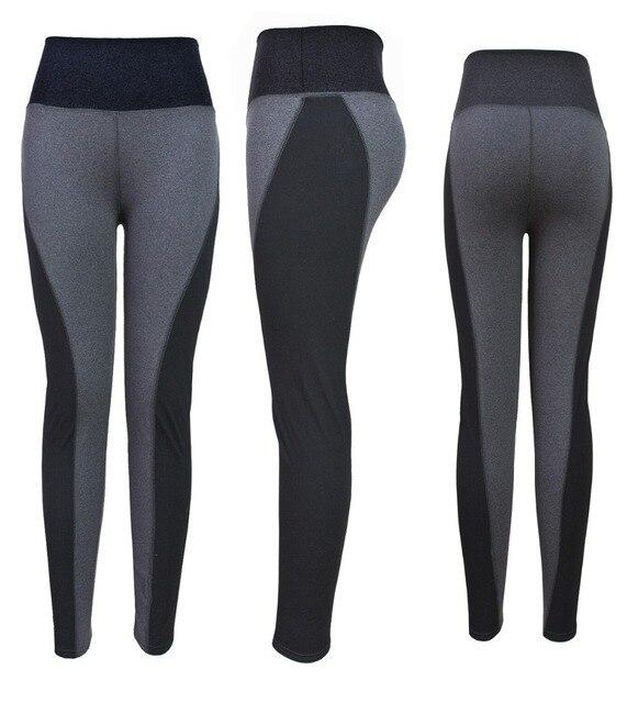 4 Colors Women Leggings Yoga Sports Elastic Pants Fitness Force Exercise Tights Female Fitness Slim Aerobics Running Trousers