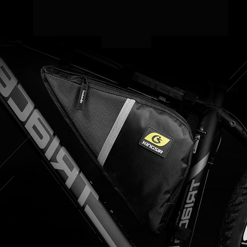 Bike Bags Waterproof Bicycle Bag Frame Front Tube Cycling Mountain Pouch Package