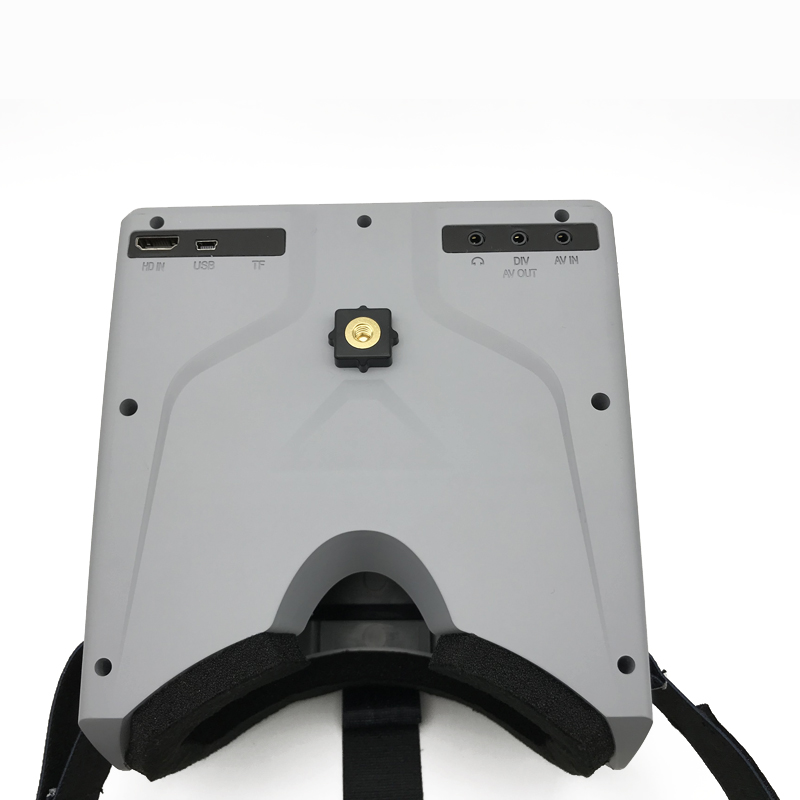 Hiee 40CH 5,8G 7 дюймов HD FPV разнообразие монитор очки 1024 x600HD встроенный аккумулятор для FPV Мультикоптер или QAV250 гоночный Дрон