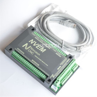 New Arrival DNEM 6 Aixs 200KHZ Ethernet MACH3 Card Stepper Motor Control for CNC Machine