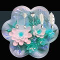 Plum  Flower  5 PCS / set  new 3D Jelly  Art Tools Jelly Cake Jello art Gelatin  Tools  puding  nozzle