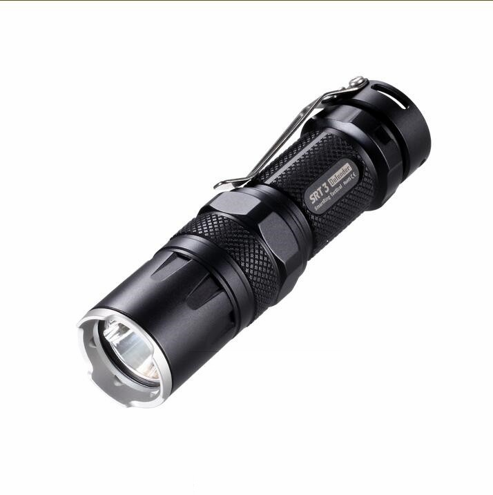 Nitecore SRT3 CREE XM-L (XM-L2 T6) 550lm Mini Rechargeable LED Tactical Flashlight Torch цена