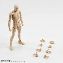 BJD SHF Figures Body Chan DX Set Male Female Figma Anime Large Bust Naked Body Figuarts Model Puppets Toys Joint can moved GH720