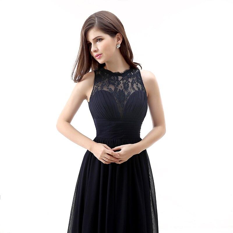 Forevergracedress 2017 Μαύρο φόρεμα μακρύ - Φορεματα για γαμο - Φωτογραφία 4