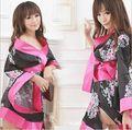 Nueva COSPLAY kimono Japonés lencería Sexy mujer ropa interior juegos de rol disfraces Eróticos juguete Sexy pijamas de Las Señoras