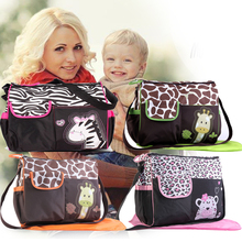 Multi-function Mummy bag large capacity maternal and child package fashion cartoon waiting bag portable mother bag
