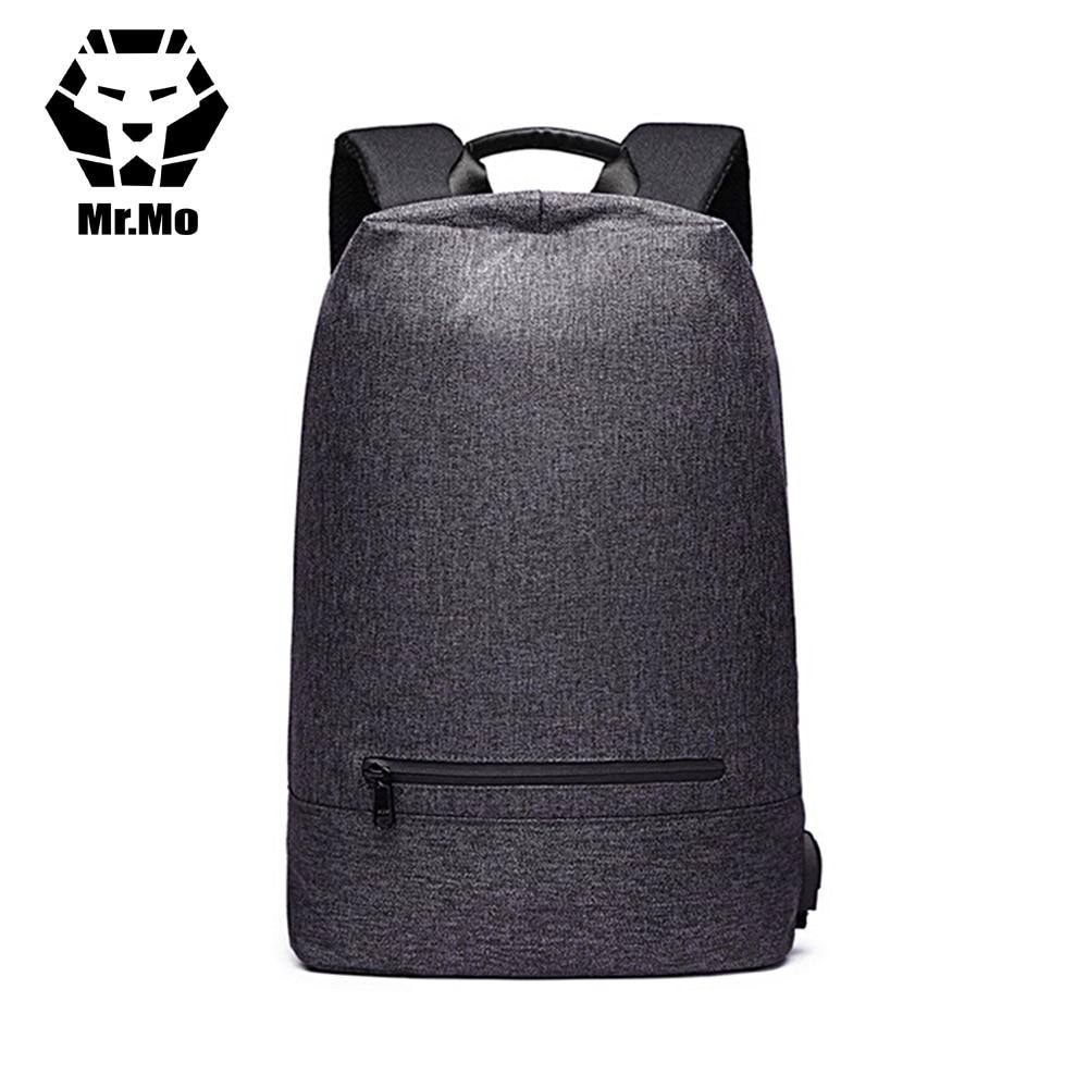 New backpack for business Men Smart External USB Hubs Mochila Rucksack Anti-theft Big Travel Backpack Bags for Men