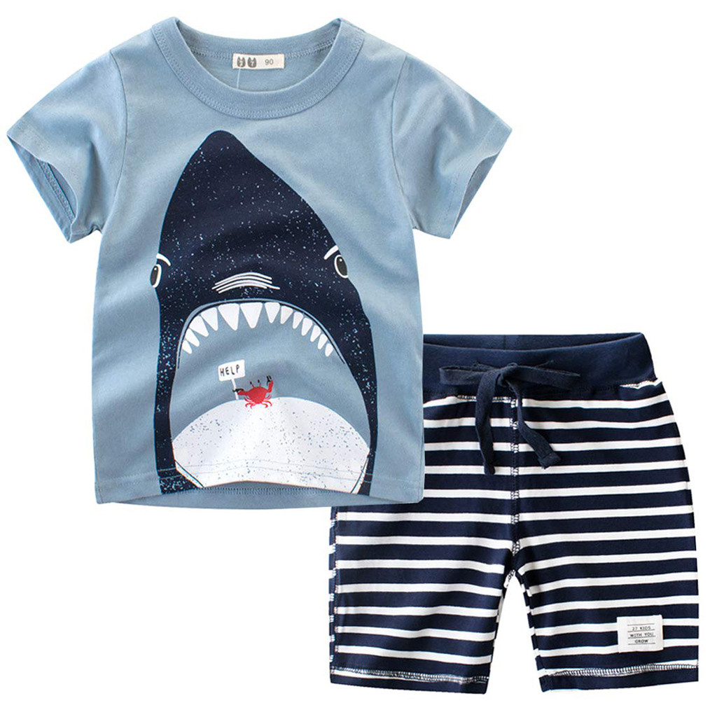 Boy/'s 2 pc Short Sleeve Top /& Shorts Set size 4//5,6//7 CAN/'T STOP ME