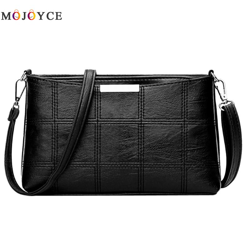 Women Plaid Messenger Bags Sac a Main PU Leather Shoulder Bags Women Crossbody Bag Ladies Designer High Quality Handbags купить в Москве 2019