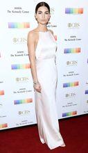 2017 Sexy Inspiriert durch Lilie Aldridge Roter Teppich-kleid Nixe-weiße Neue Ankunft Preiswerte Abendkleid Kleid