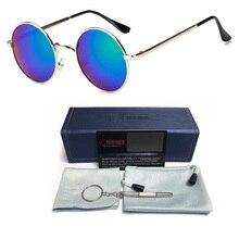 Newest Retro Round Metal Sunglasses Women Brand Designer Mirror Vintage Gradient Shades Sun Glasses UV400 Oculos Feminino Lentes