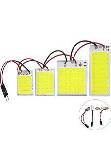 Высокое качество панель с монолитным блоком светодиодов свет супербелый автомобильный чтениt дорожной карты авто светодиодные лампы купол...