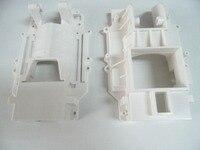 Prototipagem rápida do condictioner do ar do protótipo dos aparelhos eletrodomésticos fazendo à máquina cnc