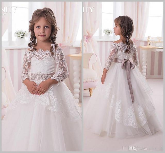 Платье детское на свадьбу