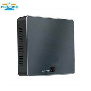 Image 5 - 8 го поколения, Intel Core i5 8250U четырехъядерный 8 ниточный Nuc Мини ПК UHD Graphics 620 DDR4, переменный ток, Wi Fi, 4K HTPC Win 10 Partaker