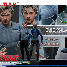 цена For collection Hot Toys MMS302  Avengers Age of Ultron 1/6th scale Quicksilver Collectible Figure Specification онлайн в 2017 году