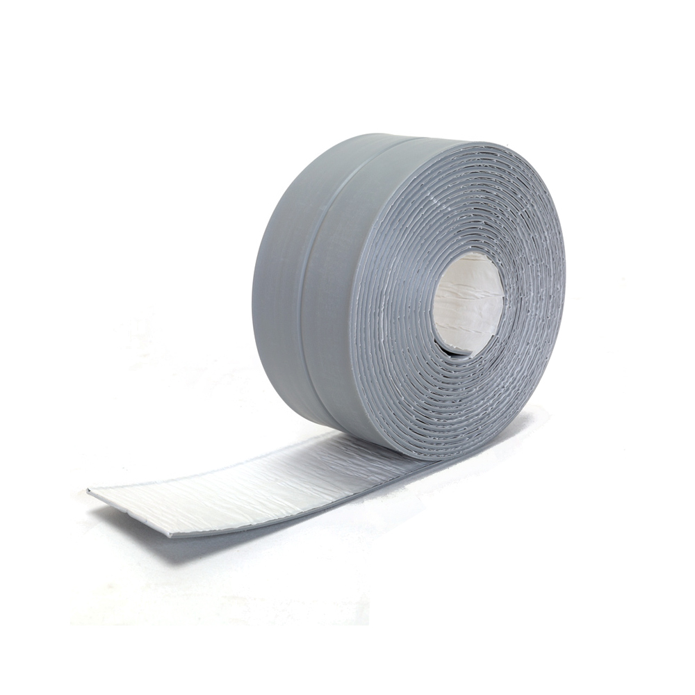Permalink to 1 Roll Self Adhesive Sticker Anti-moisture PVC Tape Wall Corner Trimmer Strip Stickers Waterproof Kitchen Sink Accessories