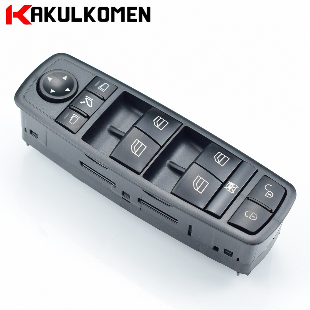 <font><b>A1698206710</b></font> 1698206710 A 169 820 67 10 Power Master Window Switch Button Panel For Mercedes-Benz A-Class W169 B-Class W245 image