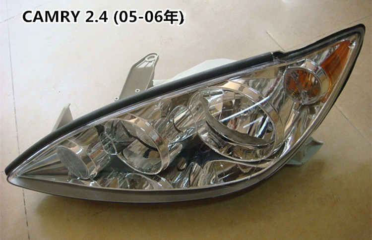 RQXR headlight assembly for Toyota CAMRY 2 4 ACV30 2005 2006 USA