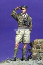 1/35 resina figura modelo kits ww2 soldado britânico desmontado sem pintura
