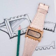 BOBO PÁSSARO Fishbone Caso Relógios com Cinta Larga Relógios De Madeira para Os Homens e Mulheres como Presente de Natal