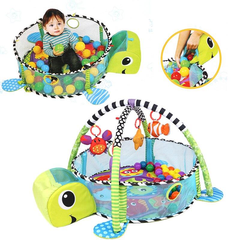 Bébé tapis de jeu tortue Lion Renard Coccinelle jouets de dessins animés Infantile Étage Couverture Éducatifs tapis de gym Enfants Tapis Activité Escalade Tapis