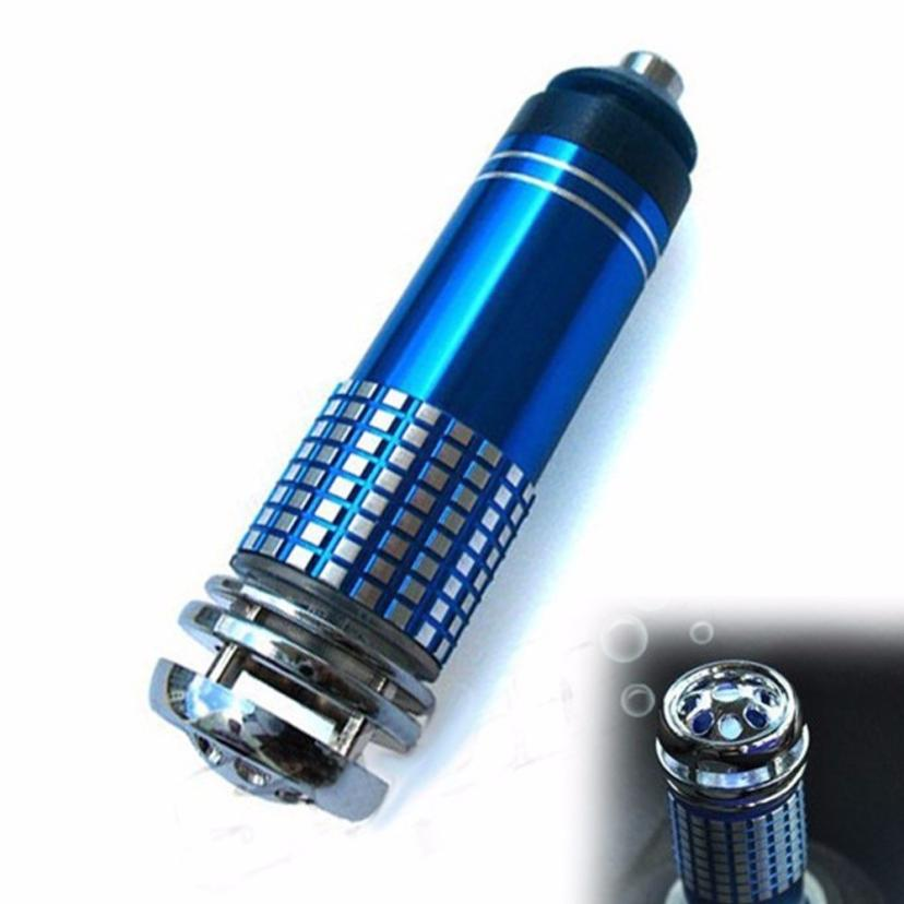 Vehicle Air Purifier Mini Auto Car Fresh Air Anion Lonic Purifier Oxygen Bar Interior Accessories DC12V Ozone Lonizer 18Apr6