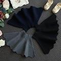new 2016 Hot girls autumn knitted wool skirt waist kids skirts