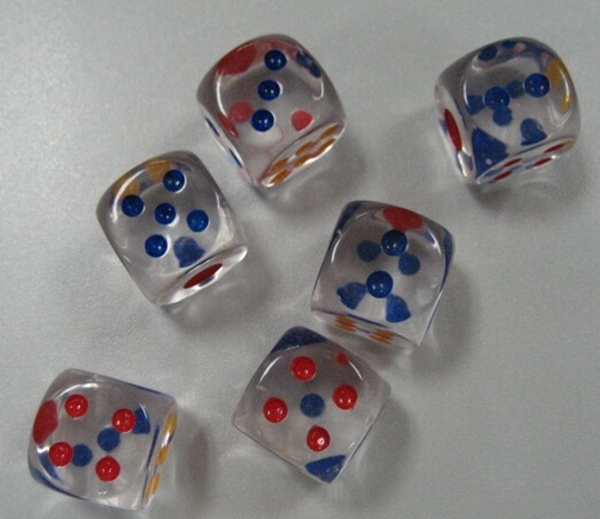 Image result for clear dice