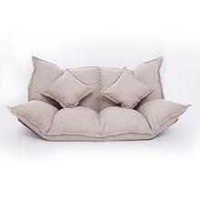 Japonés plegable ajustable ocio moderno sofá cama de sofá para juegos sofá casa dormitorio habitación dormitorio Loft sofá Loveseat