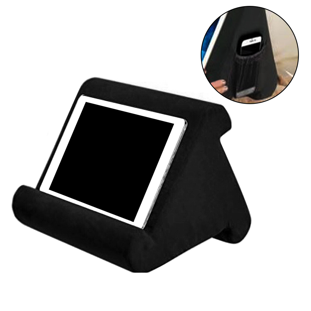 Laptop Holder Pillow Multi-Angle Soft Pillow Lazy Lap Stand For IPads, Tablets,eReaders,Smartphones, Books,&Magazines Bracket