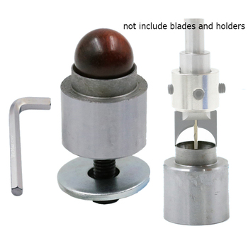 цена на alloy fixed seat mould for ball knife  diy woodworking tools wooden beads drill rosary bead molding Wooden ball base