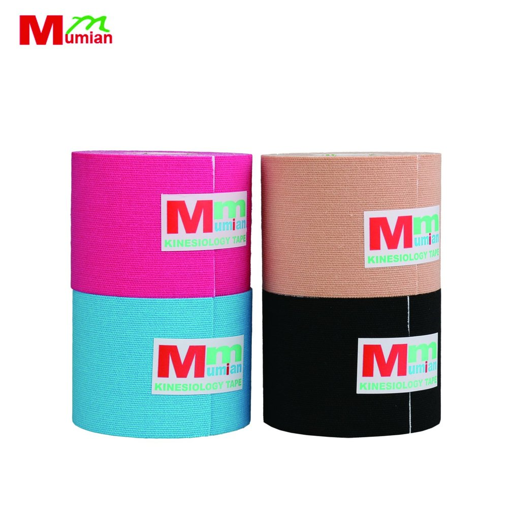 Mumian MK6 5M Cotton Elastic Adhesive Muscle Sports Roll Care Knee Bandage Breathable Ki ...