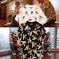 2017 SUPREMITIED Hip Hop T Camisas de Algodão de Alta Qualidade Das Mulheres Dos Homens de Moda Personalidade Banana Língua Edison Chen Yeezy T Camisas