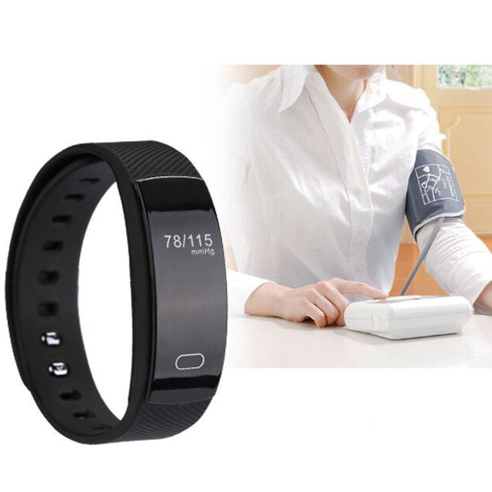 QS80 Bluettooh Smartband Blood Pressure Heart Rate Monitor Waterproof Watch Sleep Monitor Pedometer Sport Bracelet