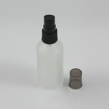 Hot sale empty 50 ml fine mist glass sprayer pump bottle for perfume, 50ml clear and frosted glass bottle