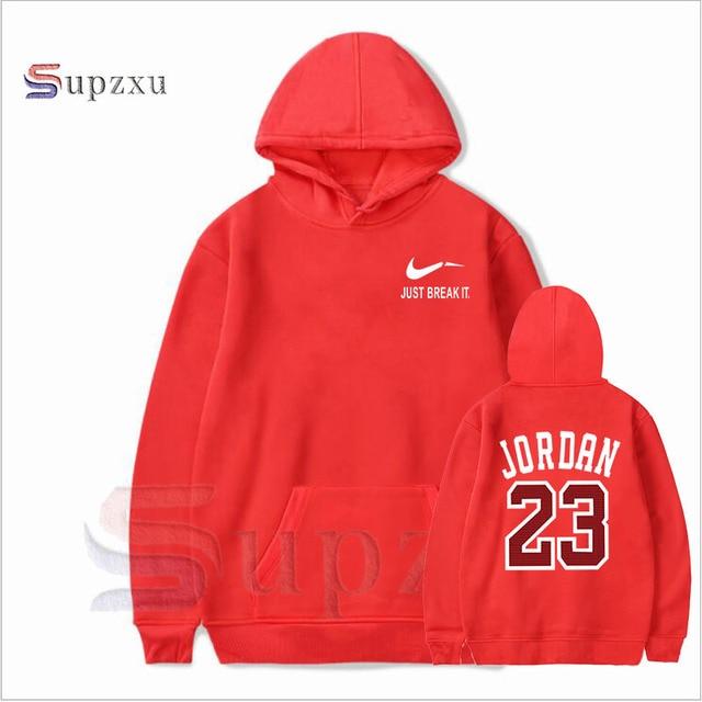 130553dd8270d0 Supzxu Brand New Fashion JORDAN 23 Men Sportswear Print suprem Men Hoodies  Pullover Hip Hop Mens tracksuit Sweatshirts Clothing