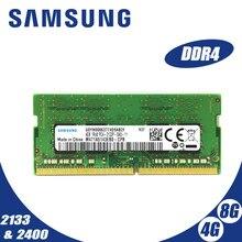 Samsung laptop ddr4 ram, 8gb 4gb pc4 2133mhz ou 2400mhz 2400t ou 2133p dimm memória do notebook 4g 8g ddr4 pc3
