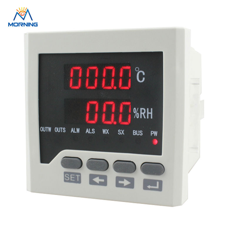 WSK302 frame size 72*72mm LED Digital display Temperature and humidity Controller,with RS485 communication sensor 72 72 mm digital temperature and humidity controller tdk0302la
