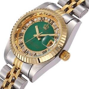 Image 3 - REGINALD Luxury Gold Mens Watches Unique Business Dress Wristwatch for Man Woman Clock Golden montre homme marque de luxe