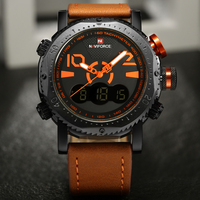 NAVIFORCE Men Watches Top Brand Luxury New Fashion Sport Digital Men S Watch Military LED Quartz