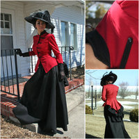 Steampunk Dress Victorian Dress Halloween Costume