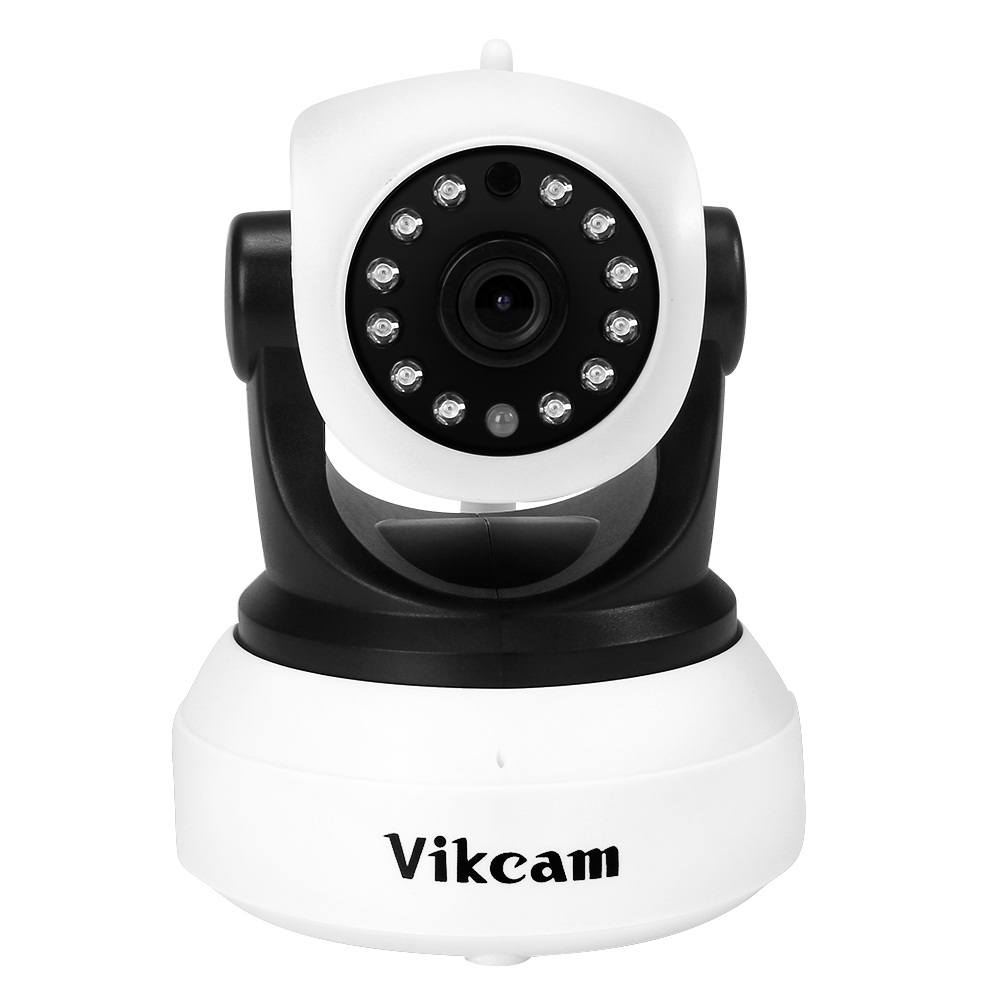 Vikcam C7824WIP Wireless Security IP Camera Wifi IR-Cut Night Vision Audio Recording Surveillance Network Indoor Baby Monitor fpv 1 2ghz 100mw 4ch wireless audio