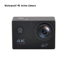 Водонепроницаемый Wi-Fi Full HD 16 М 1080 P 60FPS Для xiaomi yi Действий Камеры 4 К 170D Мини Спорта Видеокамер