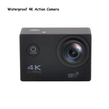 Waterproof  WiFi Full HD 16M 1080P 60FPS For xiaomi yi Action Camera 4K 170D Mini Sports Camcorder